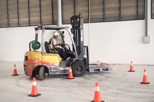 อบรมการขับรถ Forklift